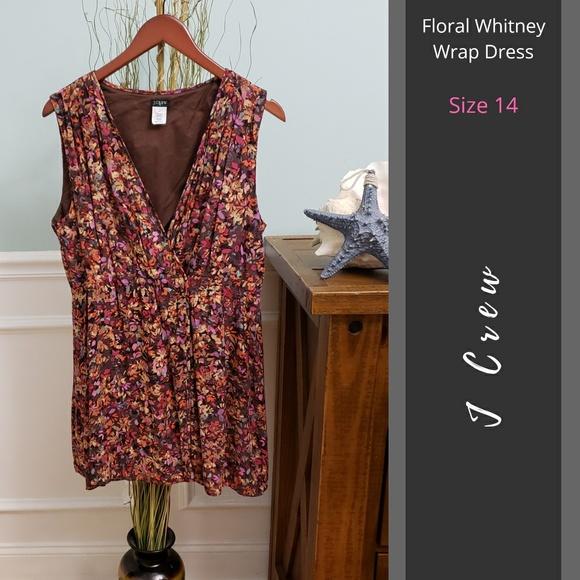 J. Crew Factory Dresses & Skirts - J Crew   Floral Whitney Wrap Dress